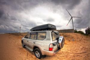 鳥取・赤崎の風力発電
