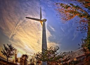 風力発電 沖縄・北谷