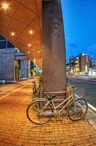 岡山駅西口の美ちゃり おしまい!