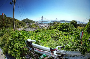 瀬戸大橋の真下の田土浦公園deポタリング