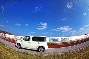 ツール・ド・おきなわ2013でHDR! 石油基地の横を通過!