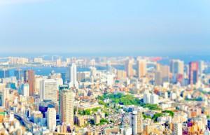 <strong>ミニチュア風[HDR]東京の風景</strong>