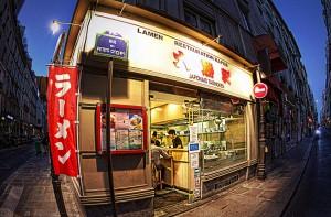日本食レストラン【HDR】ラーメン「大勝軒」