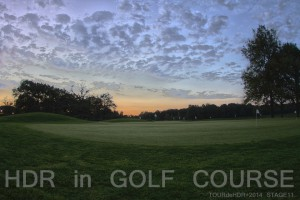 HDR in GOLF COURSE