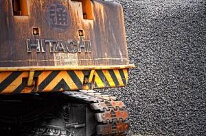 <strong>玉島ハーバーアイランド【HDR】石炭で汚れたクレーン</strong>