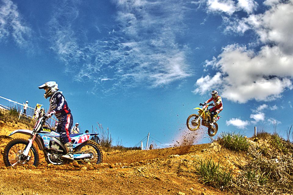 2014全日本モトクロス選手権シリーズ第8戦中国大会でHDR