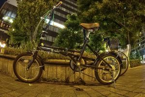 折り畳み自転車らしいわー!@BicyariOkayama