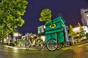 クロネコヤマトの電動アシスト自転車@BicyariOkayama