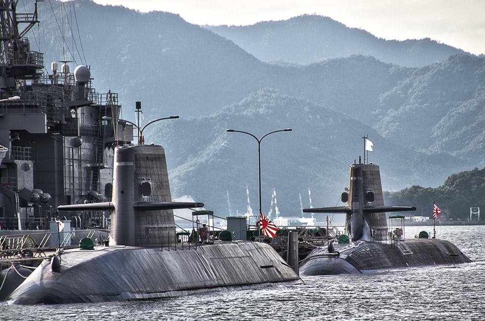 おやしお型とそうりゅう型潜水艦