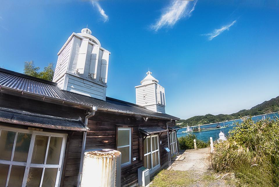 灯台記念館(旧大浜埼船舶通航潮流信号所)