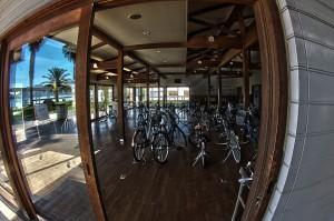 しまなみサイクリング@生口島サンセットビーチにあるレンタサイクル