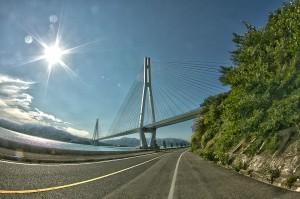 しまなみサイクリング@多々羅大橋は美しい斜張橋!