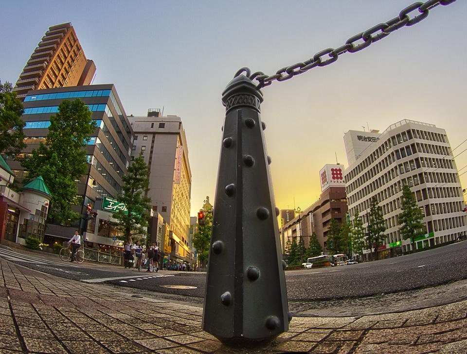 桃太郎大通りの金棒