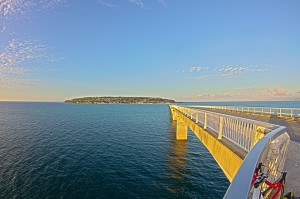 屋我地島~古宇利大橋までサイクリング@ツール・ド・おきなわ2015でHDR