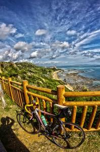 知念岬 沖縄南部をサイクリング@ツール・ド・おきなわ2015でHDR