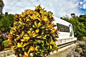 ひめゆりの塔と慰霊碑 沖縄南部をサイクリング@ツール・ド・おきなわ2015でHDR