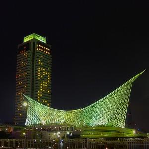 神戸海洋博物館とオークラ@KOBE NIGHT