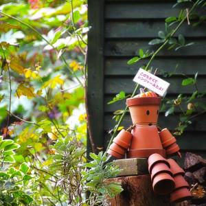 神戸布引ハーブ園のかわいい鉢人形、その3@神戸布引HerbGardens