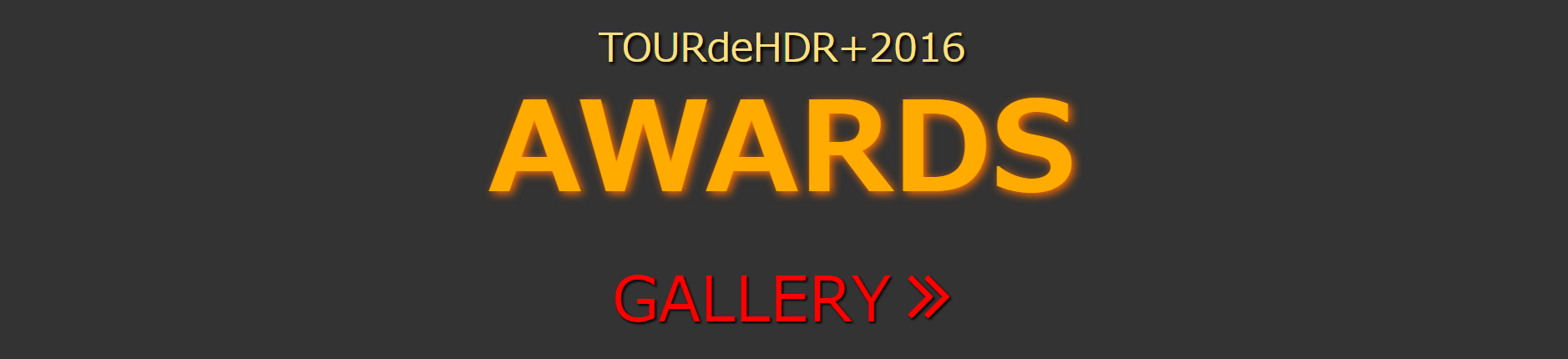 Awards2016 GALLERY