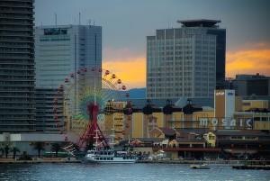 ファンタジー号の45分の神戸港クルーズ終了!@KOBE AGAIN
