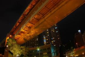 HDR好きは、見てしまうと絶対に撮ってしまう高速道路高架下!@KOBE AGAIN