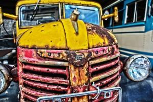 トヨタBM型トラックをHDR@RUSTED CAR