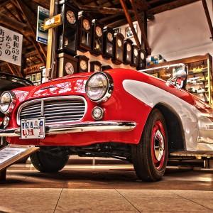 まるでブリキのおもちゃみたいに見える、かわいいフェアレディー@Vintage Car