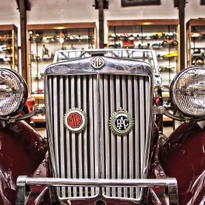 MGはGMと勘違いしそうだわー!@Vintage Car
