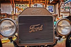 T型フォードとヘンリー・フォード@Vintage Car