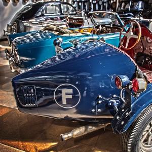 ブガッティのテール!キラキラ感あふれすぎ!@Vintage Car