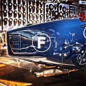 ブガッティのテール2@Vintage Car