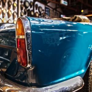 トライアンフ・TR4のテールランプ@Vintage Car