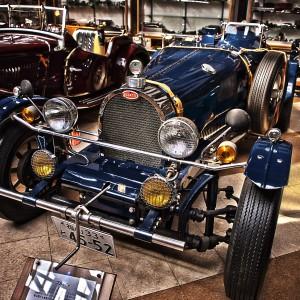 青のブガッティを見るとカーグラフィックTVのオープニングを思い出す!@Vintage Car