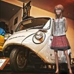 マツダK360と3Dモデル@RETRO CAR