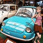 マツダ360とAdobeのFUSEで作った3Dモデル@RETRO CAR