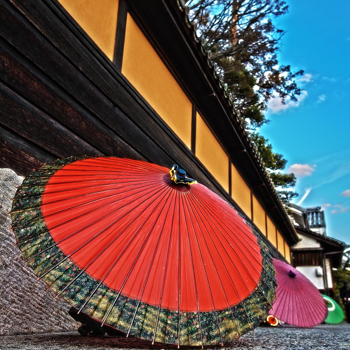 春宵あかりの和傘