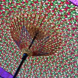 和傘の裏側@倉敷春宵あかり