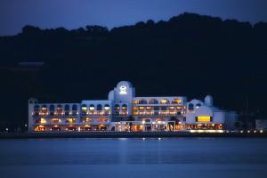 夜のホテルリマーニ@黒島ビーナスロード