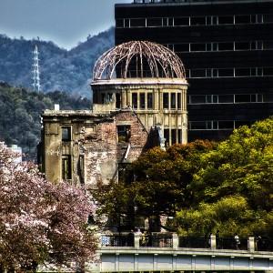 元安橋と原爆ドーム@A‐BOMB DOME