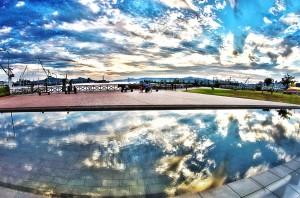 水面に反射している雲(バルデ・フランス人初勝利)@SkyCollection