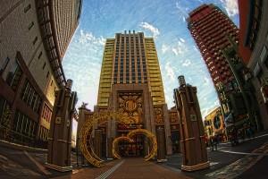 パークフロントホテルのイルミネーション@UNIVERSAL CITYWALK OSAKA