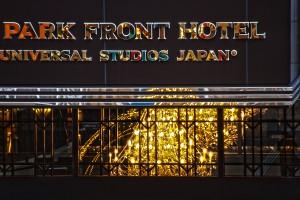カラフルなパークフロントホテルのロゴ@UNIVERSAL CITYWALK OSAKA