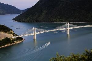 橋と船@HINASE