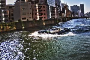 大川のタグボート@FESTIVAL TOWER WEST