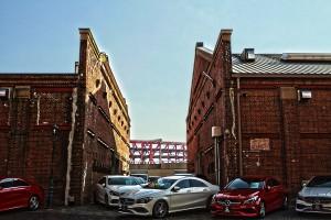 港大橋と赤レンガ倉庫@EnsuCars