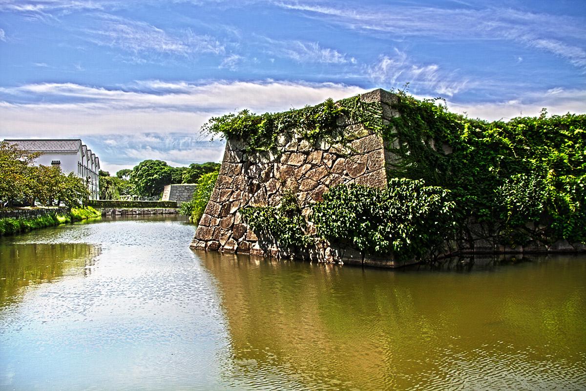 赤穂城 東隅櫓台