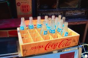 ジュースの瓶@昭和ブリキ看板