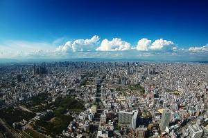 あべのハルカスからみた雲@OsakaChips2