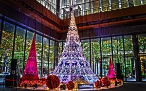 丸ビルのクリスマスツリー@BRIGHT CHRISTMAS