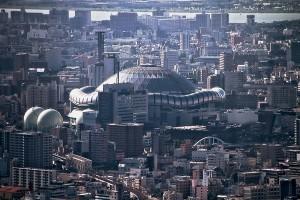 あべのハルカスから大阪を眺める@OsakaChips2